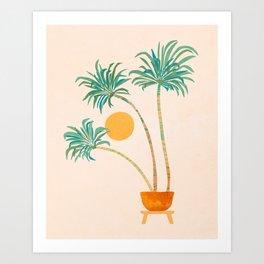 SoCal Palms Art Print