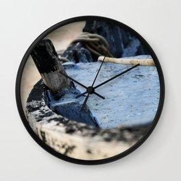Boat detail Wall Clock