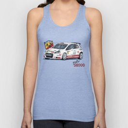 Abarth Punto S2000 Unisex Tank Top