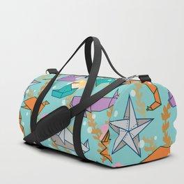 Origami Ocean Duffle Bag