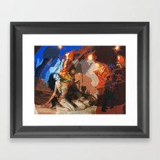 Sex Explosion Framed Art Print