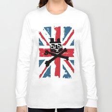 Bear Picnic Union Jack Long Sleeve T-shirt