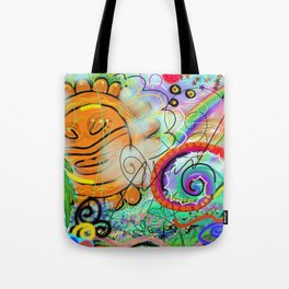 Taino Echoes - Puerto Rico Tribal Ethnic Art Tote Bag