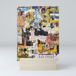 Basquiat World Mini Art Print