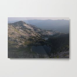 Sunrise over Lake Catherine Metal Print