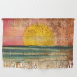 Ocean Sunset Vintage 2.0 Wall Hanging