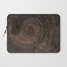 Brown rock with shells Laptop Sleeve