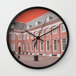 Amsterdam Abstract No.4 Wall Clock