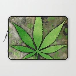 Weed Leaf Laptop Sleeve