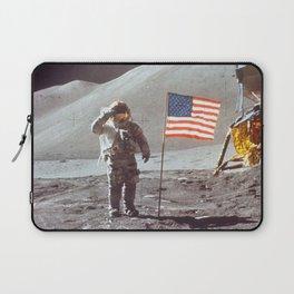 American Moon Landing Laptop Sleeve