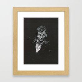 David Tennant Framed Art Print