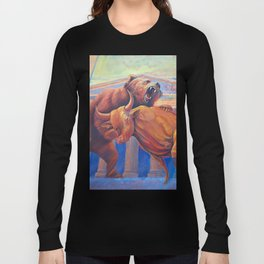 Bear vs Bull Long Sleeve T-shirt