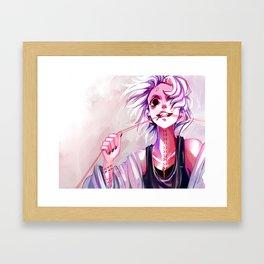 Threaded Framed Art Print