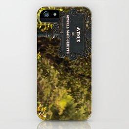 Paris Avenue iPhone Case