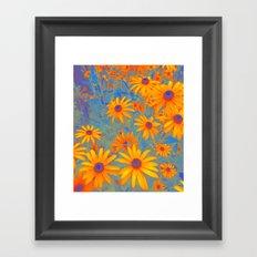 Beautiful Wild Summer Framed Art Print