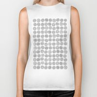tree rings Biker Tanks featuring Tree Rings by Andrew Stephens
