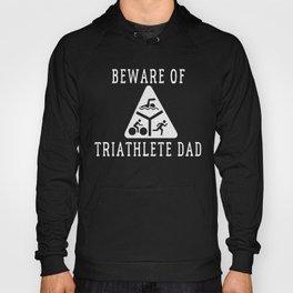 Funny Triathlete Dad Quote Hoody