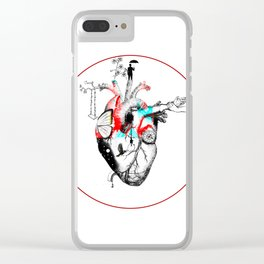 Growing Heart Clear iPhone Case