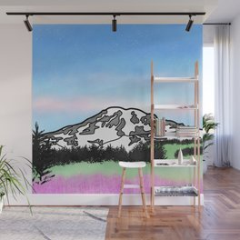 Mount Rainier Wall Mural