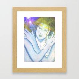 queen of the deep Framed Art Print