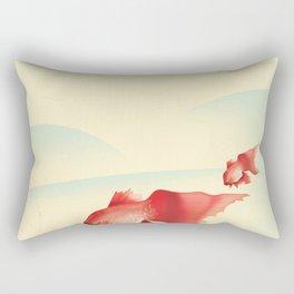 Japan Goldfish Rectangular Pillow