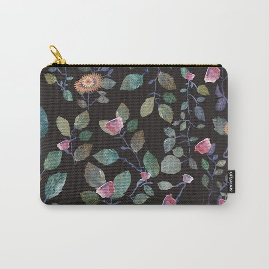 climb flowers Carry-All Pouch