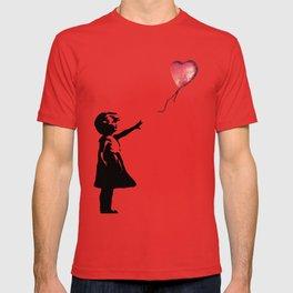 Banksy cosmic balloon T-shirt