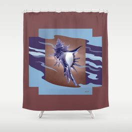 Beautiful Homes - The Spiny Murex Shower Curtain