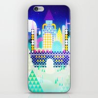 castle in the sky iPhone & iPod Skins featuring Castle in the Sky by Alexander Pohl