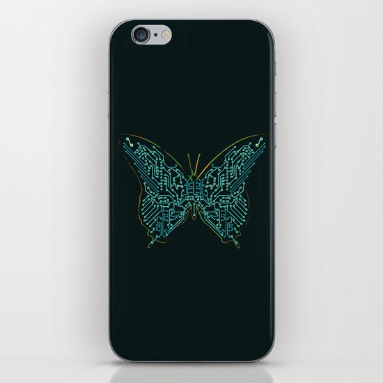 Mechanical Butterfly iPhone & iPod Skin