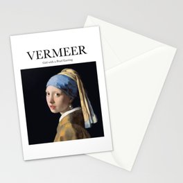 Vermeer - Girl with a Pearl Earring Stationery Cards