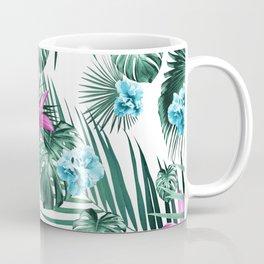 Tropical Flowers & Leaves Paradise #3 #tropical #decor #art #society6 Coffee Mug