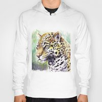 jaguar Hoodies featuring Jaguar by Juan Pablo Cortes