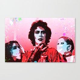 The Rocky Horror Picture Show - Pop Art Canvas Print