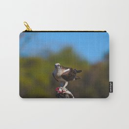 A Close Look At An Osprey Gripping An Unlucky Fish Carry-All Pouch