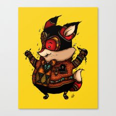 Archer of the Woods Canvas Print