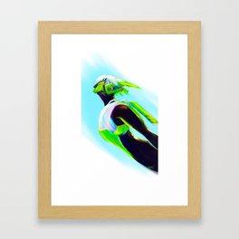 Touch the sky... Framed Art Print