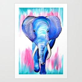 Stunning Elephant Art Print