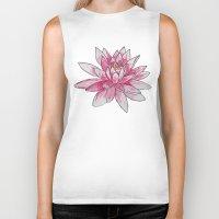 lotus Biker Tanks featuring Lotus by Haley Erin