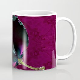 Black Velvet Leaf Coffee Mug
