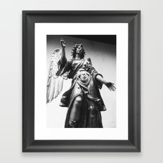 Judgment Framed Art Print