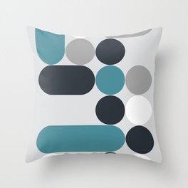 Domino 02 Throw Pillow