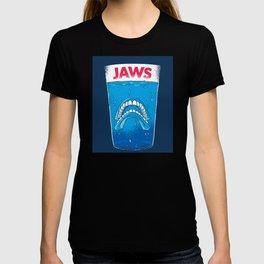 JAWS TEETH DESIGN T-shirt