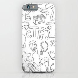ctrl iPhone Case