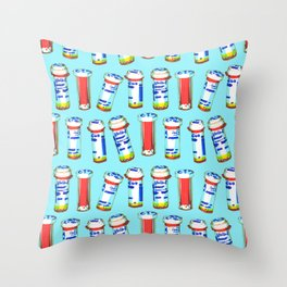 Better Living Through Chemistry II Throw Pillow