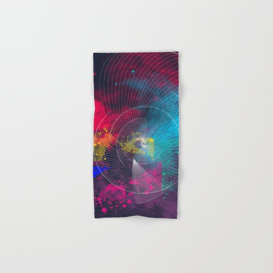 Longing for a colorful totality Hand & Bath Towel