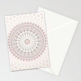 Cream Rose Mandala Stationery Cards