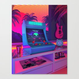 Arcade Dreams Canvas Print