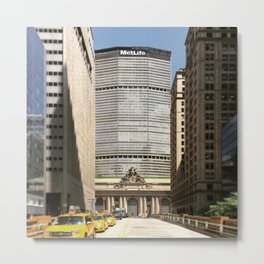 Grand Central New York Metal Print