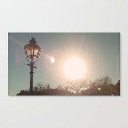 The Sun Stays the Same Canvas Print